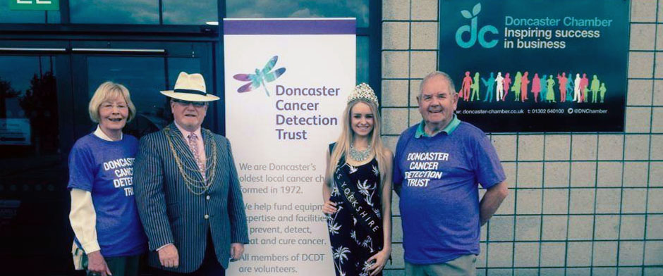 MISS YORKSHIRE DONCASTER CANCER DETECTION TRUST