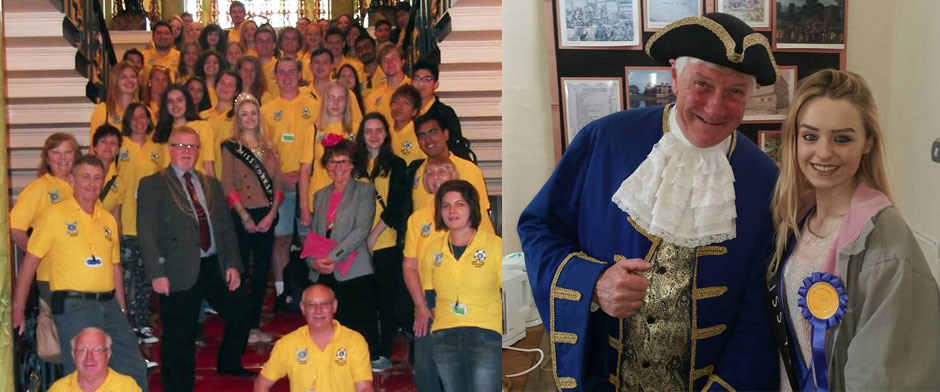 MISS YORKSHIRE LIONS CLUB
